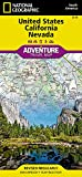United States, California and Nevada (National Geographic Adventure Map (3119))