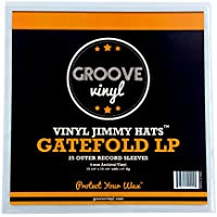Groove Vinyl Gatefold LP Premium Outer Record Sleeves (25 Pack)