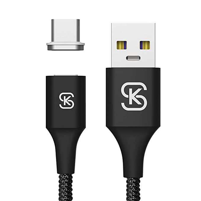 Amazon.com: Cable magnético USB C SIKAI 5A Huawei ...