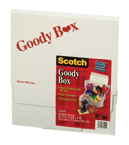Scotch Goody Box, 8-1/2 Inches x 11 Inches x 4 Inches -