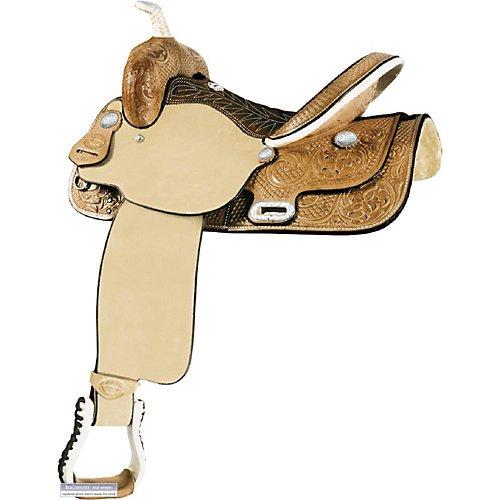 Billy Cook Saddlery Time Breaker Barrel Saddle 15
