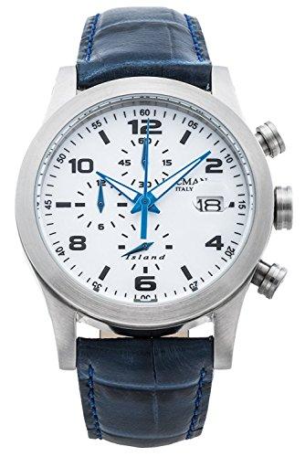 LOCMAN watch ISLAND 0618A08-00WHBKPB Men's