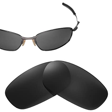 e1c40edab0 Cofery Replacement Lenses for Oakley Square Wire 2.0 Sunglasses - Multiple  Options Available (Black -