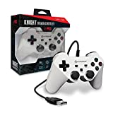 Hyperkin ''Knight'' Premium Controller for PS3/ PC/ Mac (White)
