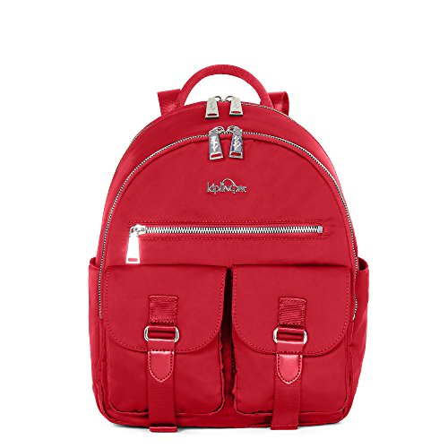 Kipling Women's Amory Backpack One Size Candied Red (Backpack Kipling Red)