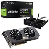 """EVGA Geforce GTX 980 Ti VR EDITION GAMING ACX 2.0+, Easy Access 5.25"""" Bay w/ front HDMI and USB 06G-P4-3996-KR"""