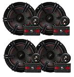 2) MB Quart XC1-216 90 Watt Car Audio Component 6.5 Inch Speaker Systems