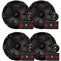 2) MB Quart XC1-216 90 Watt Car Audio Component 6.5 Inch Speaker Systems X-Line