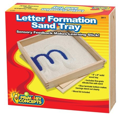 Primary Concepts, PC-2011 Letter Formation Sand Storage and Organization