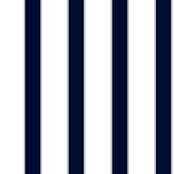 Cool Kids Larges Rayures Papier Peint Rayures Blanc Bleu Marine Gris