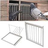 FidgetGear 30/40x26cm Wires Bars Frame Racing Pigeon Entrance Fantail Tumbler Bird Supply 40 cm