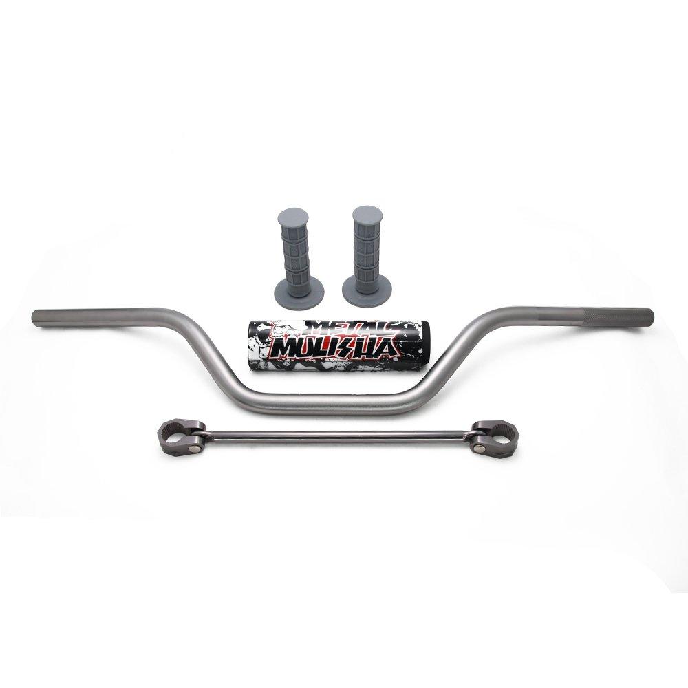 para Kawasaki KX65 KX85 KX125 KX250 KX500 Fast Pro Juego de manillar universal para manillar de motocicleta de 22 mm