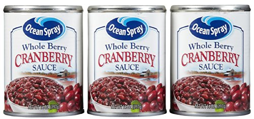 Ocean Spray Whole Cranberry Sauce - 14 oz - 3 Pack