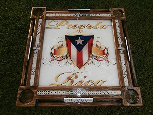 Puerto Rican Pride Domino Table