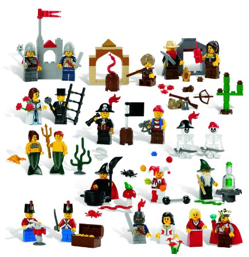 Learn More About LEGO Education Fairytale and Historic Minifigures Set