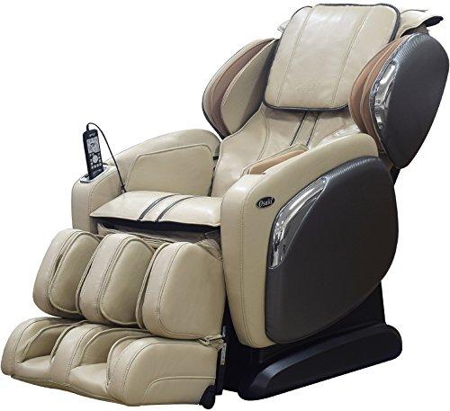 OSAKI OS-4000LS Zero Gravity Heated Massage Chair, Cream