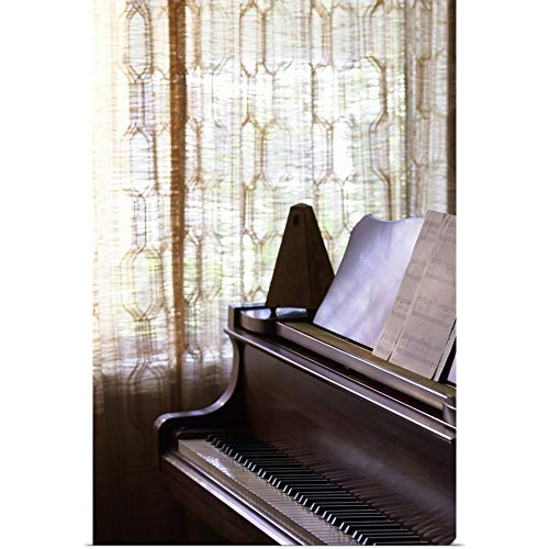 GREATBIGCANVAS Poster Print Entitled Piano with Metronome and Sheet Music by 12