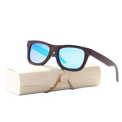 Amazon.com: BuBu-Fu - Gafas de sol de madera polarizadas ...
