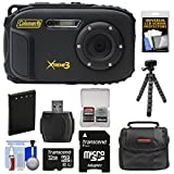 Cheap Coleman Xtreme3 C9WP Shock & Waterproof 1080p HD Digital Camera (Black) with 32GB Card + Battery + Case + Flex Tripod + Kit