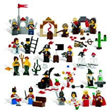LEGO Education Fairytale and Historic Mini Figures Set 4598356 (227 Pieces, 22 Different Figures)
