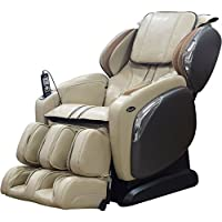 TITAN Osaki Ivory Faux Leather Reclining Massage Chair (Ivory)