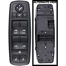 Aupro 68110872AA Master Power Window & Power Fold-In Mirror Switch Fits 2012-2016 Town & Country & Dodge Grand Caravan 2013-2015 Ram 1500 2500 3500 Crew Cab Pickup 2013 Ram Van