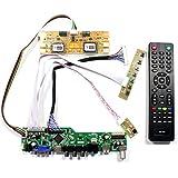 VSDISPLAY HDMI+VGA+CVBS+USB+RF+Audio LCD Motor Driver Board Controller Kit Work For 17'' 19'' LTM170EU LM190E02 1280X1024 4CCFL 30Pin LCD Panel