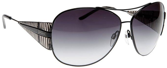 16121eabb32a Just Cavalli JC 266S S 01B Black Classic Aviator Sunglasses  Amazon.co.uk   Clothing