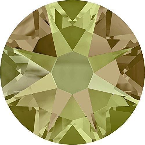 2000、2058 & 2088スワロフスキーFlatback結晶Non HotfixクリスタルLuminous Green SS34 (7.2mm) - 144 Crystals (Wholsale) 10014688 SS34 (7.2mm) - 144 Crystals (Wholsale)  B076BDW672
