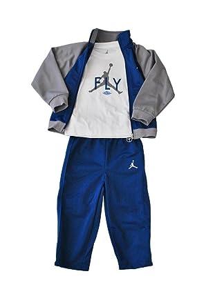 Nike Baby's - Jordan 3 Piece Set - Blue Grey White