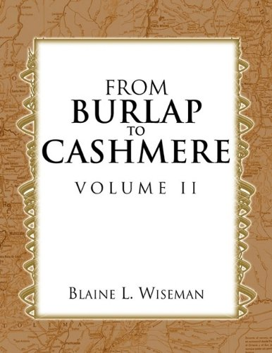 FROM BURLAP TO CASHMERE VOLUME II