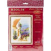 Riolis–Juego de Punto de Cruz Provence Calle, algodón