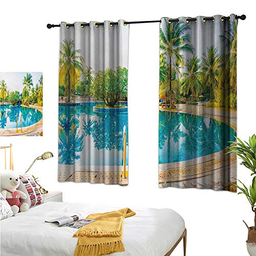 Superlucky Decorative Curtains for Living Room,Landscape,72