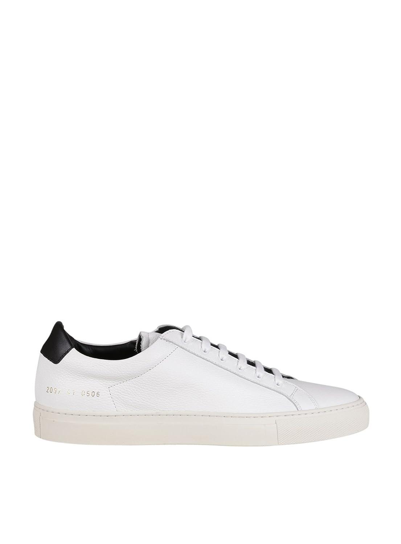 Common Projects メンズ 20970506 ホワイト 革 運動靴 B07BZ43RX2