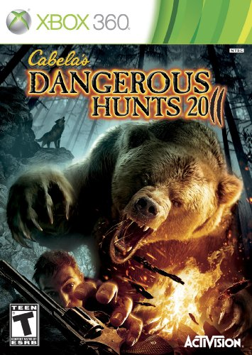 Cabela's Dangerous Hunts 2011 - Xbox 360 (Rapala Trophies)