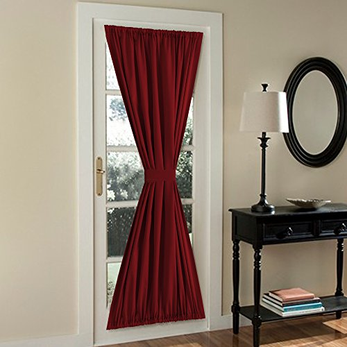Compare Price To Red French Door Panel Curtains