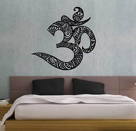 Symbol Buddhism Divine Buddhist Sign Indian Design Wall Vinyl