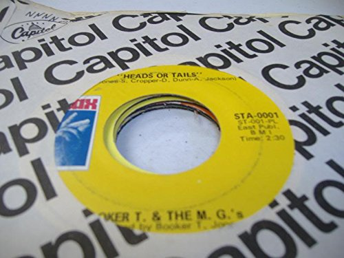 BOOKER T. & THE M.G.'S 45 RPM Heads Or Tails / Soul-Limbo