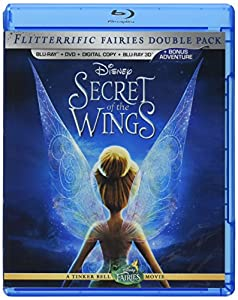 Cover Image for 'Secret of the Wings (Four-Disc Combo: Blu-ray 3D/Blu-ray/DVD + Digital Copy)'