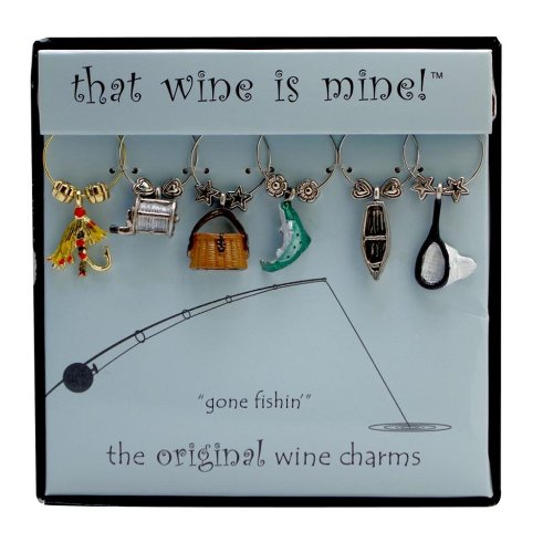 Wine Things WT 1442P Fishing Painted product image