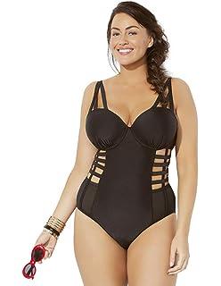 f0df798e0e Swimsuits for All Women s Plus Size GabiFresh Terrain Caged Underwire  Swimsuit