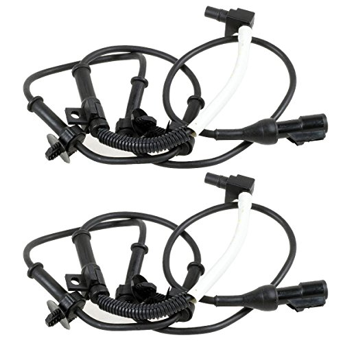 Amazon Com Autex 2pcs Abs Wheel Speed Sensor Front Left Right