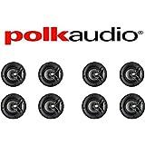 Polk Audio V60 High Performance Vanishing In-Ceiling Speakers (8 Pack) …