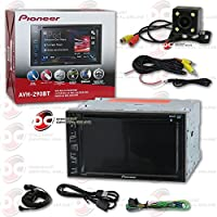 Pioneer AVH-290BT Double DIN 2DIN 6.2 Touchscreen Car MP3 DVD CD receiver Bluetooth USB AUX with DCO Night Vision and 170 Degrees Wide Angle View