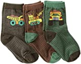 Country Kids Boys 2-7 Monster Truck Sock 3 Pairs
