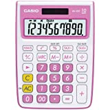 Casio MS-10VC Standard Function Calculator, Pink