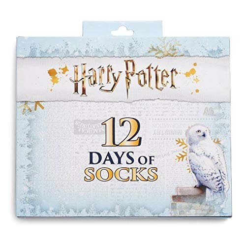 Hedwig Women's 12 Days of Socks Harry Potter Advent Calendar