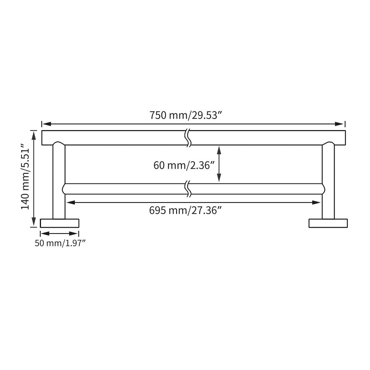 Hillman Hardware Essentials 853372 Stainless Steel Gate Barrel Bolt 5