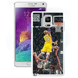 kobe bryant dunks (2) Individual Popular Design Customized Samsung Galaxy Note 4 Phone Case