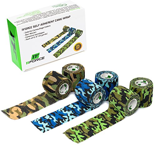 Self-Adhesive Cohesive Compression Wrap by 11FORCE